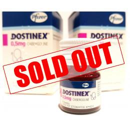 Dostinex 0.5mg Pfizer (8Tabs)