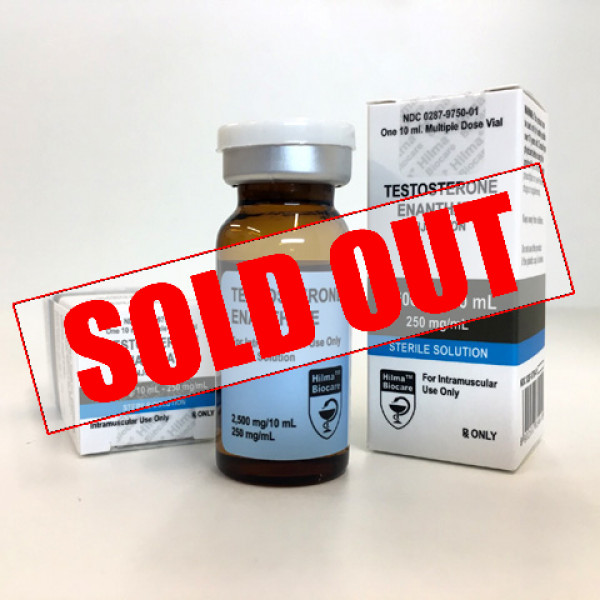 Testosterone Enanthate from Hilma Biocare