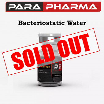 PARA PHARMA BACTERIOSTATIC WATER 10ML